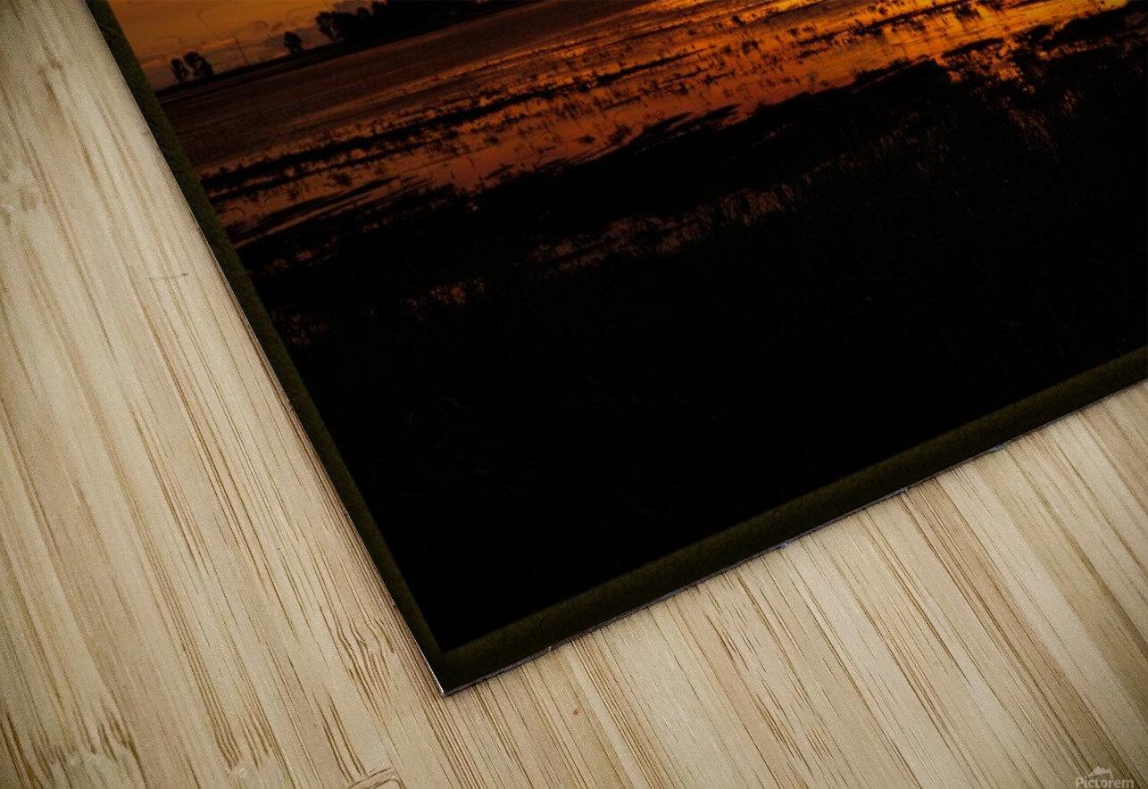 granite belt sunset HD Sublimation Metal print