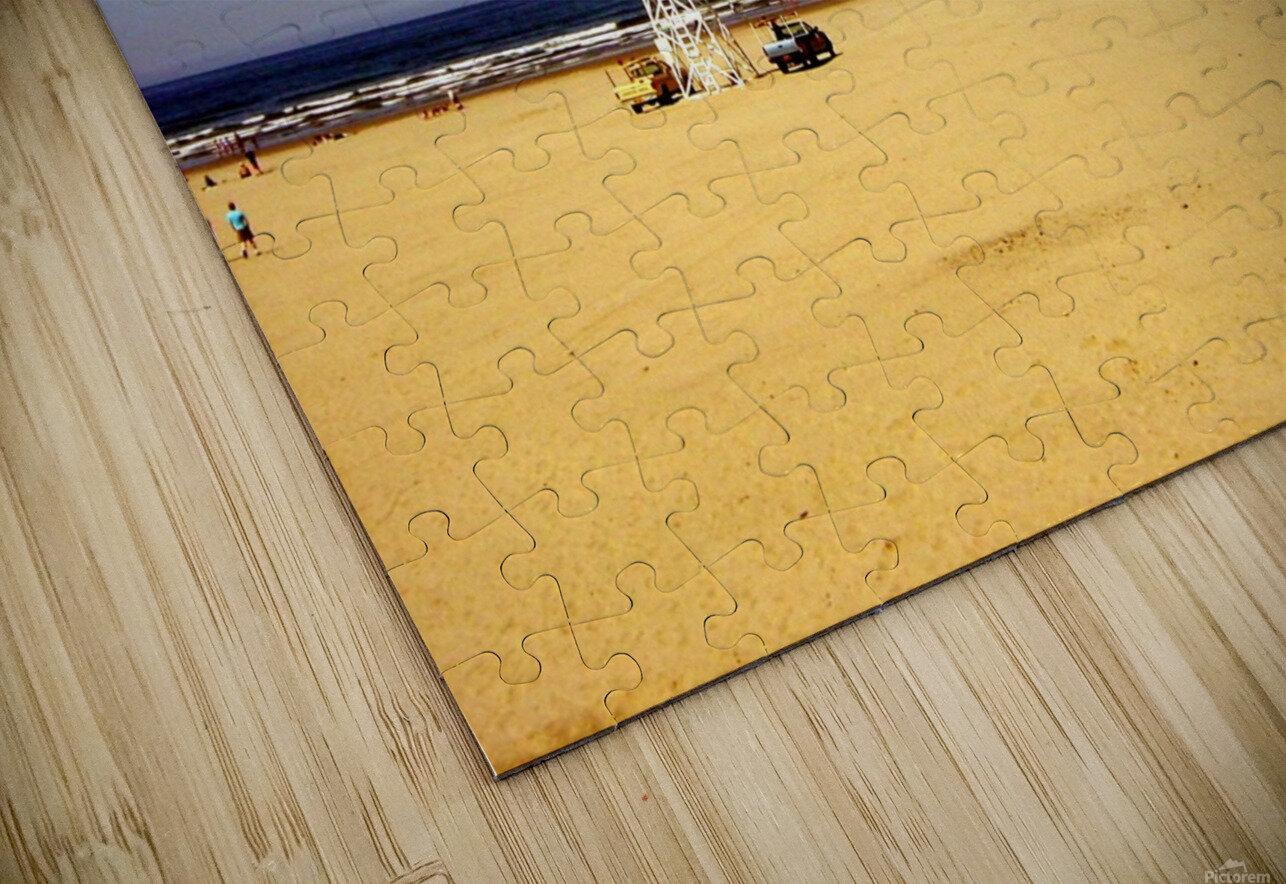 Oregon Coast   Golden Sands HD Sublimation Metal print
