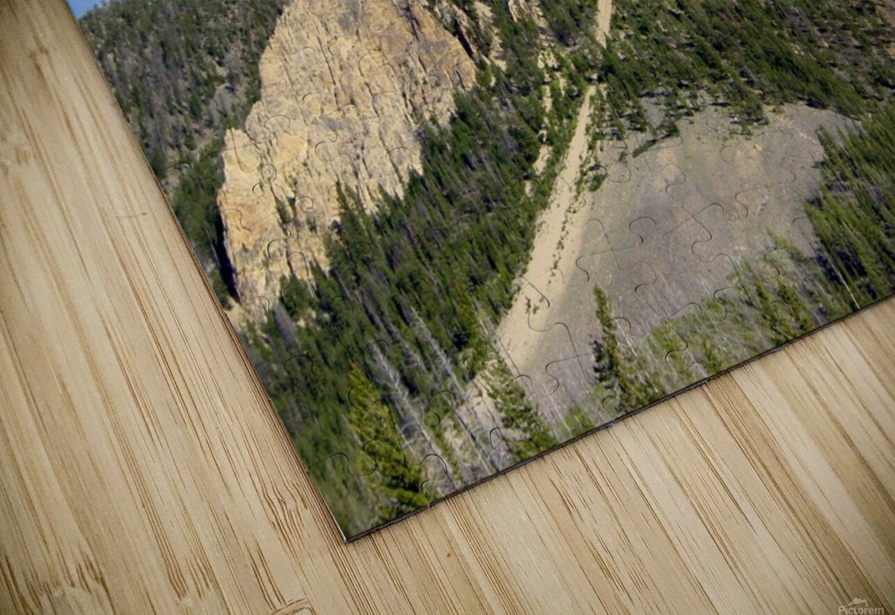 Yellowstone National Park 2 HD Sublimation Metal print