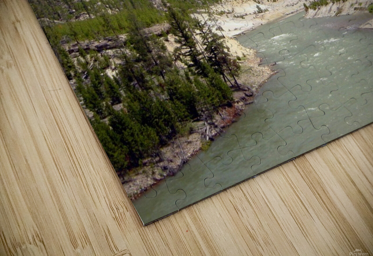 Yellowstone National Park 3 HD Sublimation Metal print