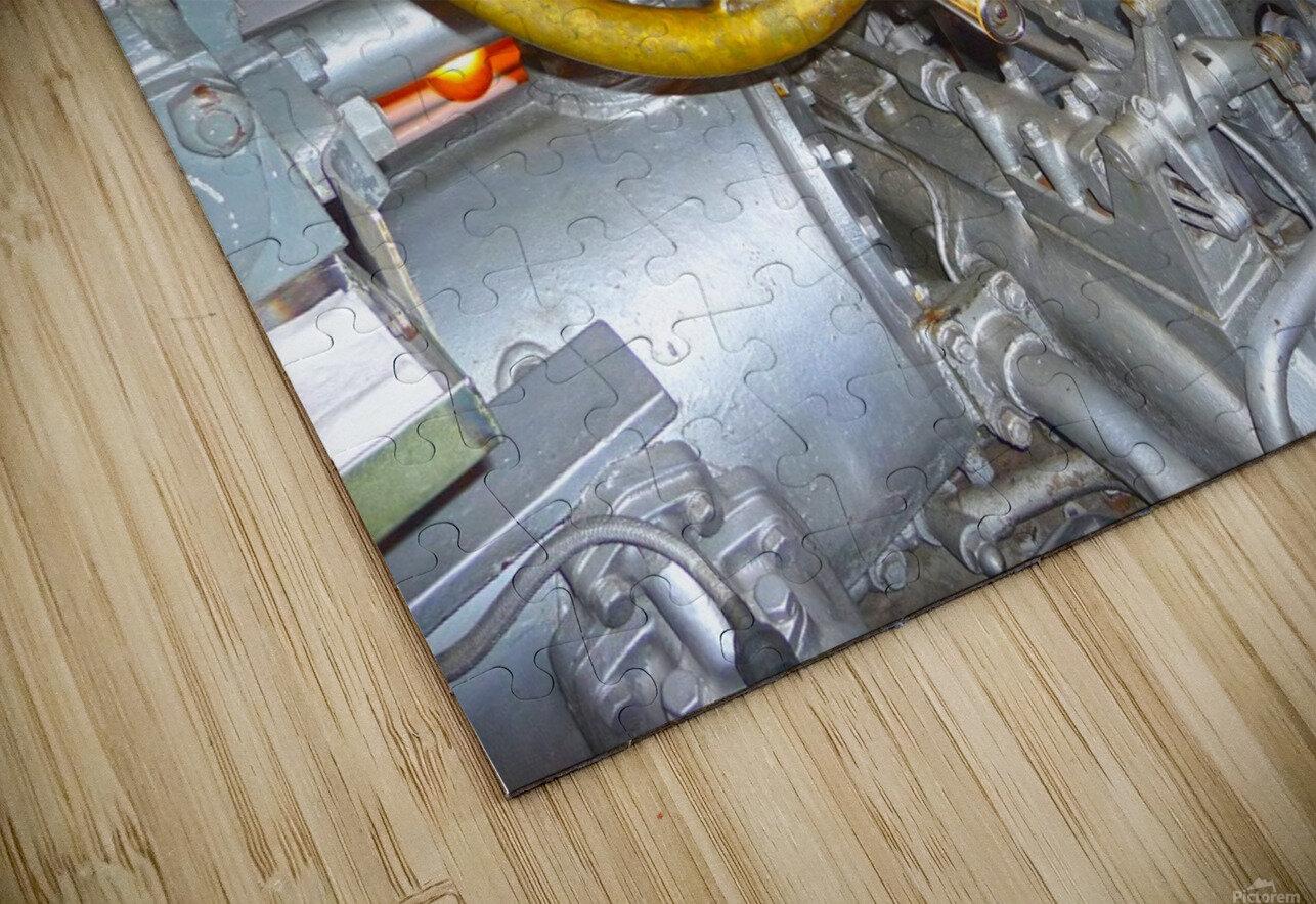 Submarine 2 HD Sublimation Metal print