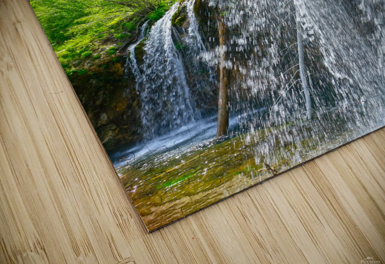 Wild Back Country HD Sublimation Metal print