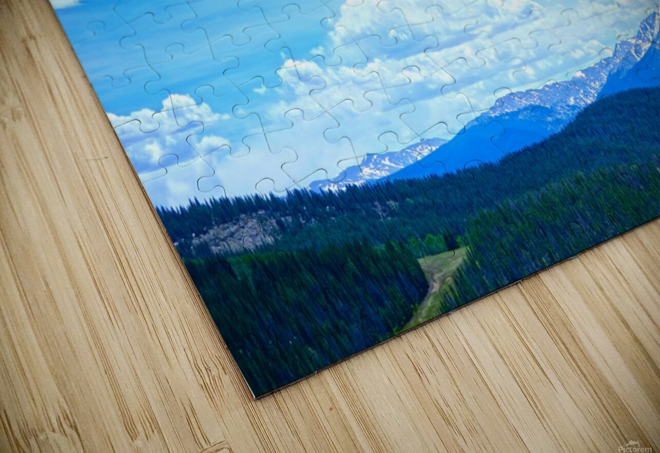 Painted Skies Over the Sawatch HD Sublimation Metal print