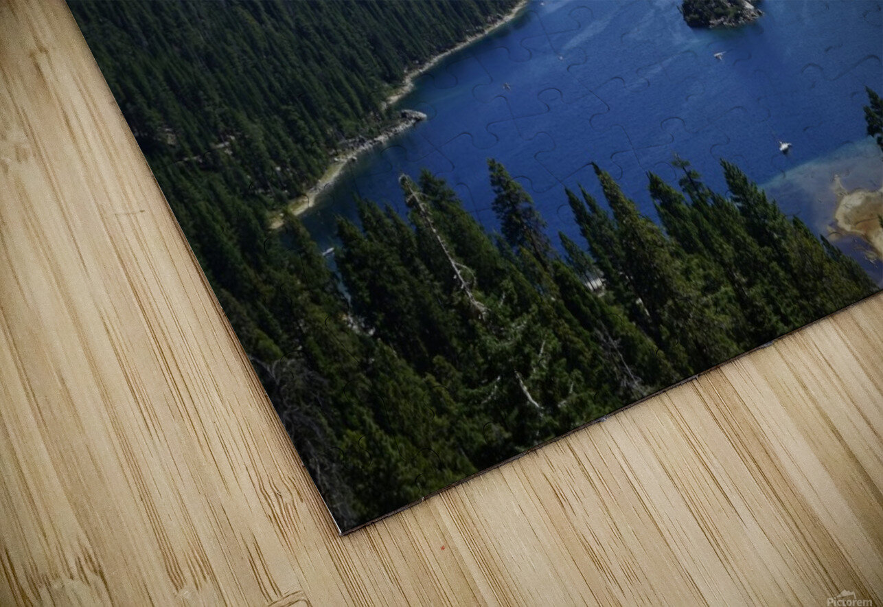 Top of the Lake HD Sublimation Metal print