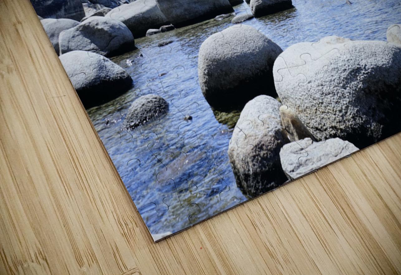 On the Lake - Tahoe California USA HD Sublimation Metal print