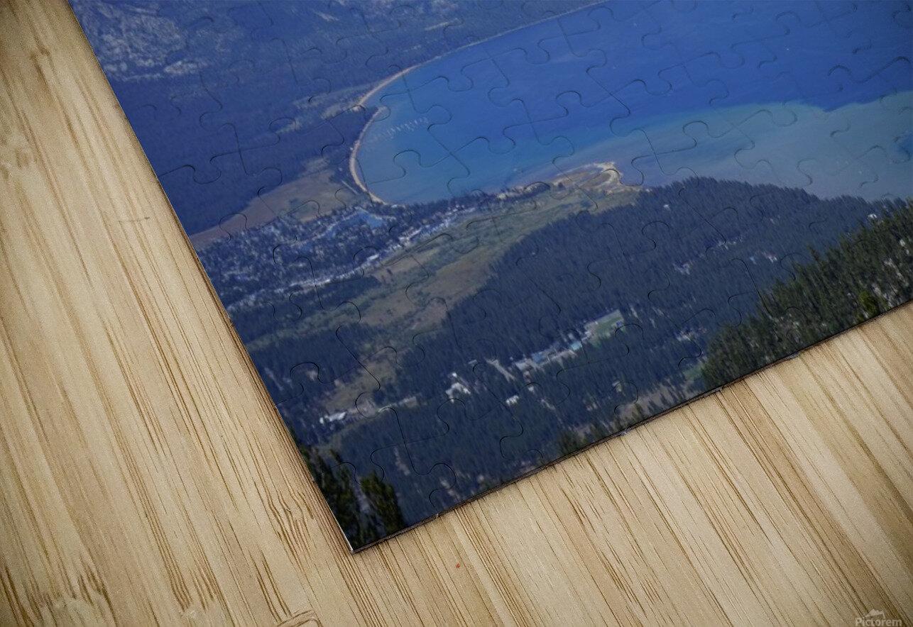 Lake Tahoe View - Tahoe California USA HD Sublimation Metal print