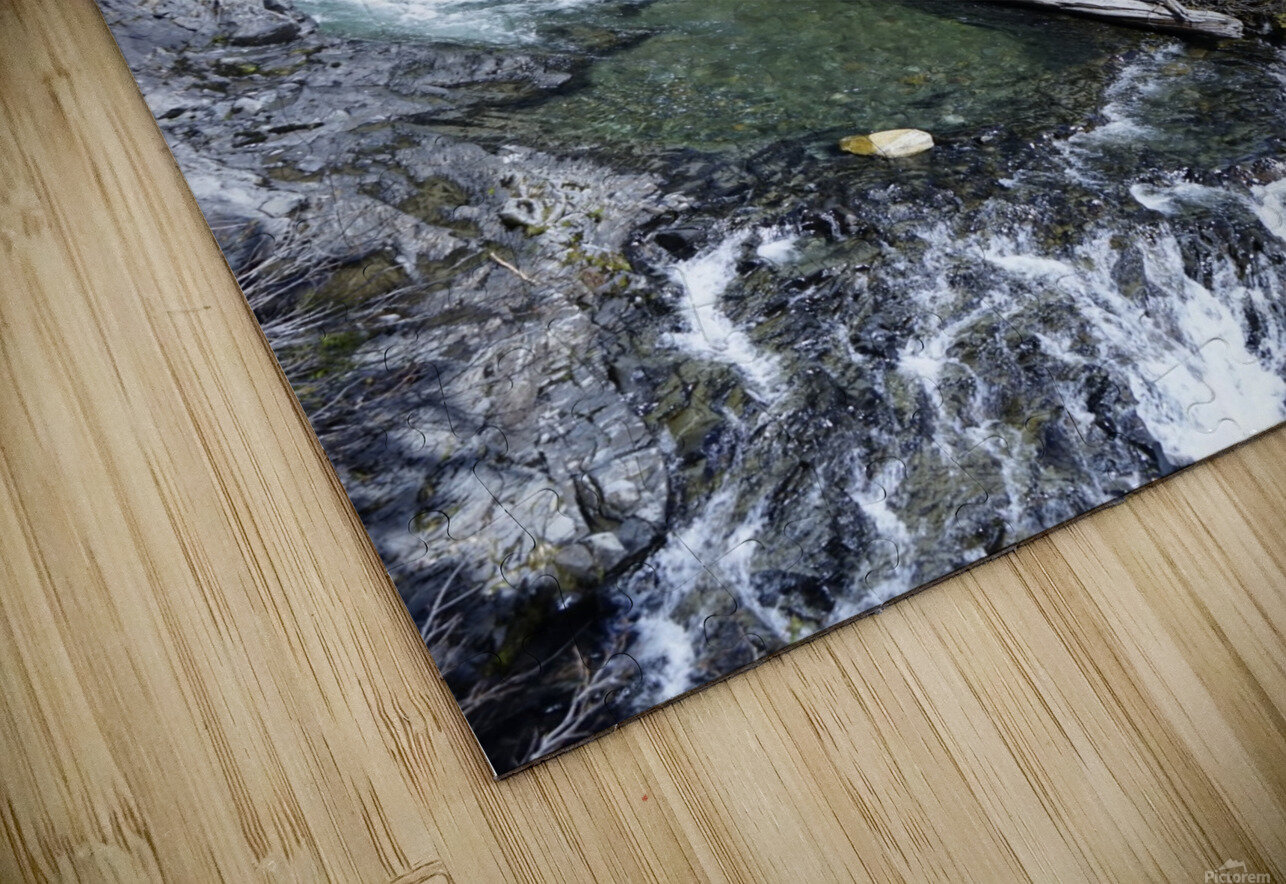 From Bridge to Stream HD Sublimation Metal print