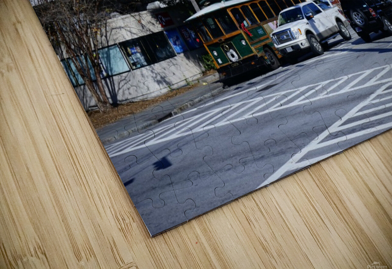 Snapshot in Time Charleston 1 of 5 HD Sublimation Metal print