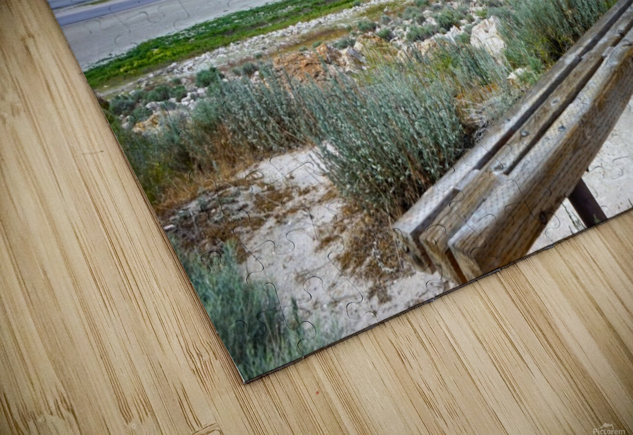 The Great Salt Lake 1 of 7 HD Sublimation Metal print