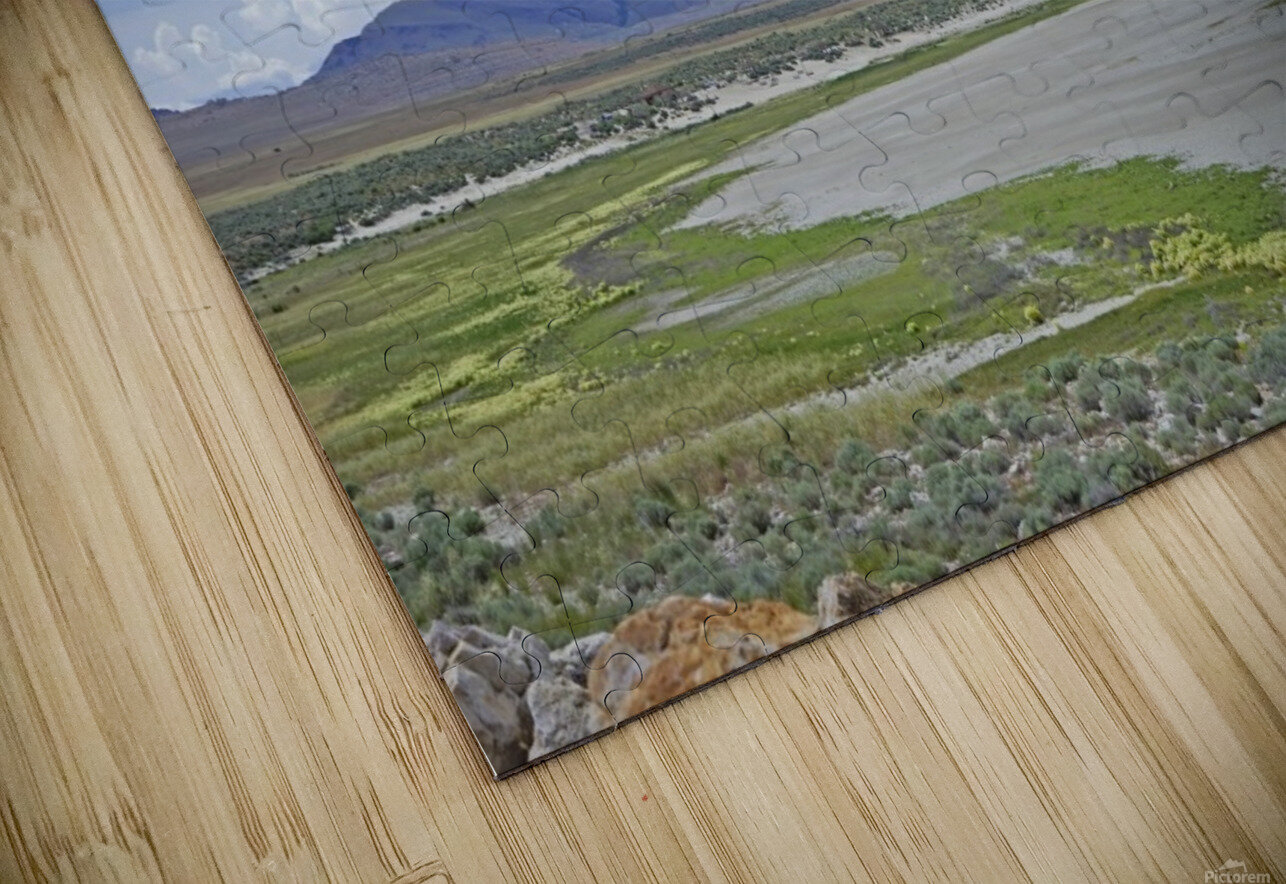 The Great Salt Lake 3 of 7 HD Sublimation Metal print