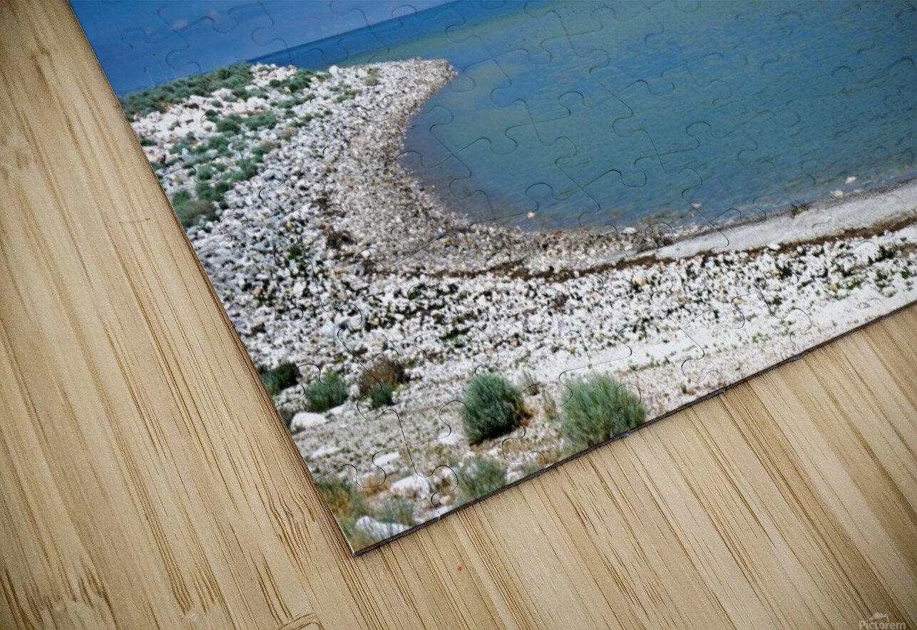 The Great Salt Lake 6 of 7 HD Sublimation Metal print