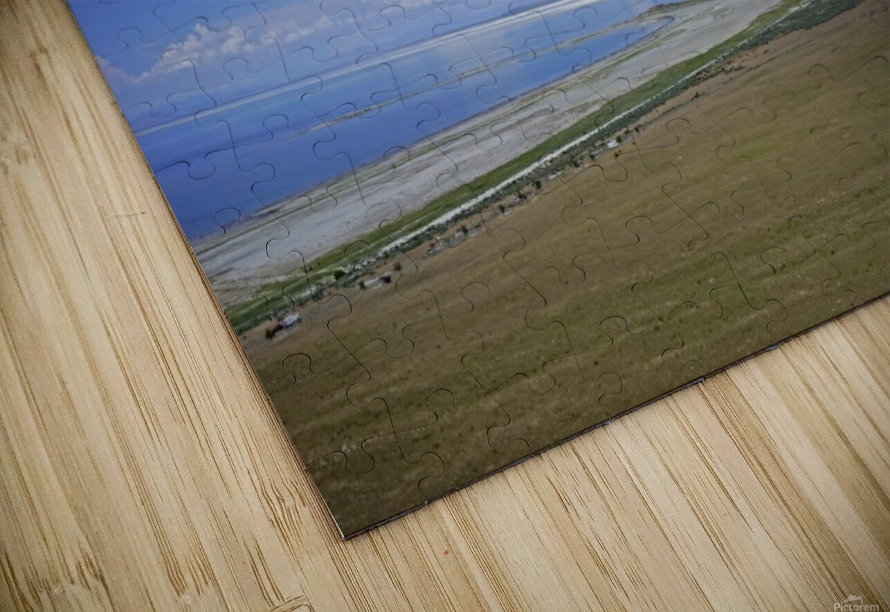The Great Salt Lake 7 of 7 HD Sublimation Metal print