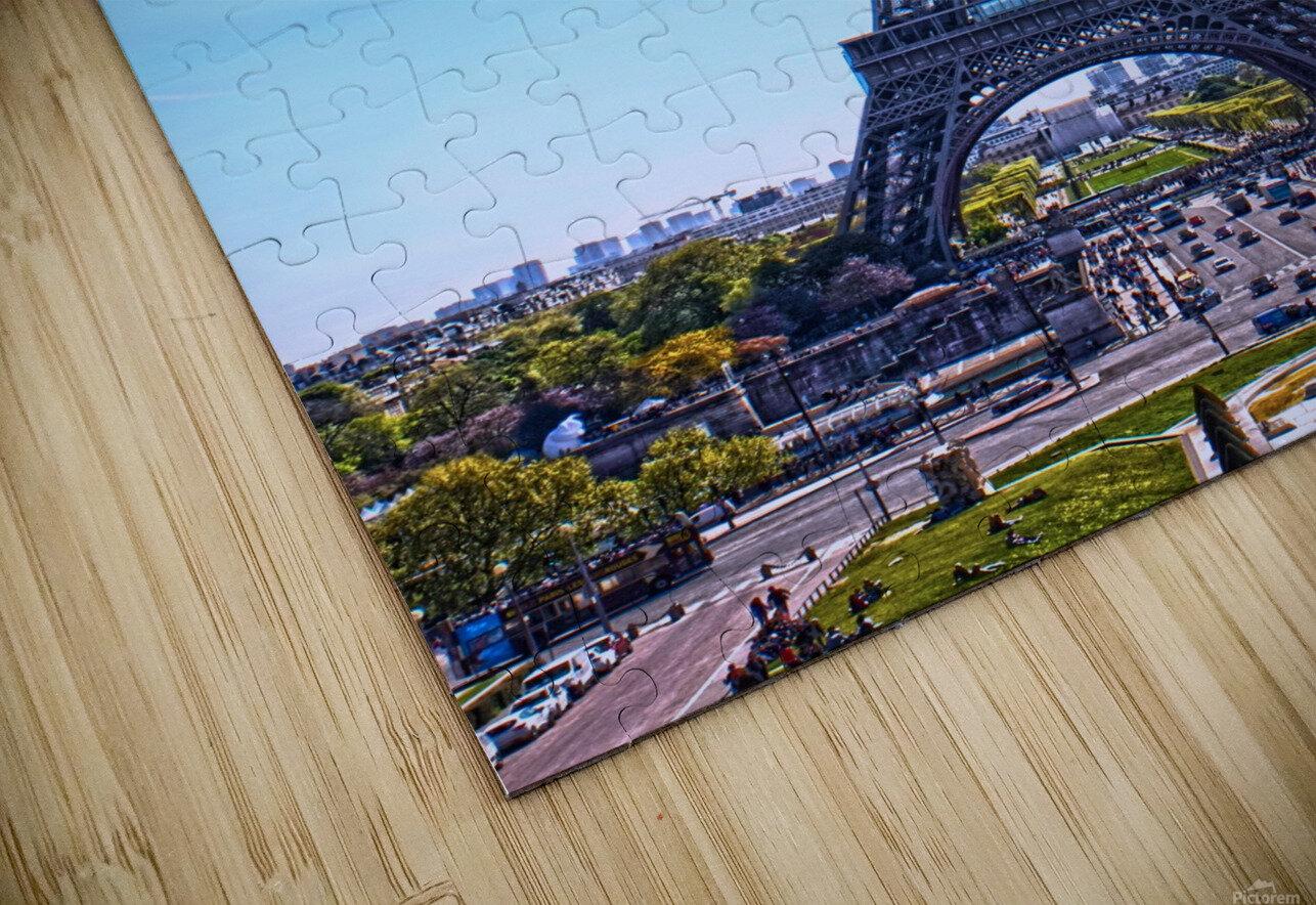 Majestic Eiffel HD Sublimation Metal print