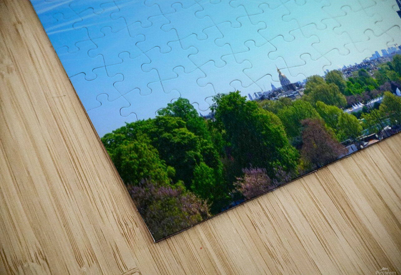 Eiffel Tower HD Sublimation Metal print