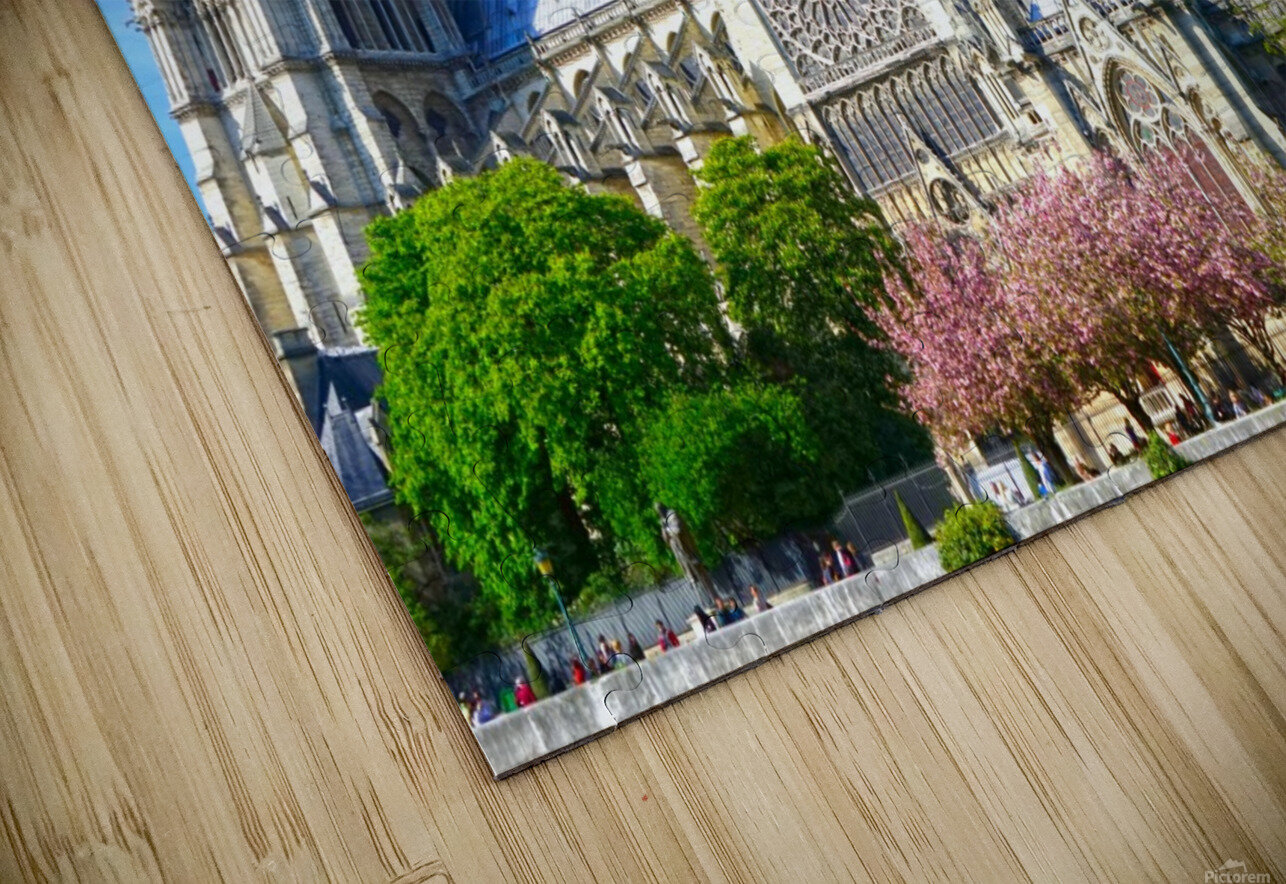 Notre Dame Paris HD Sublimation Metal print