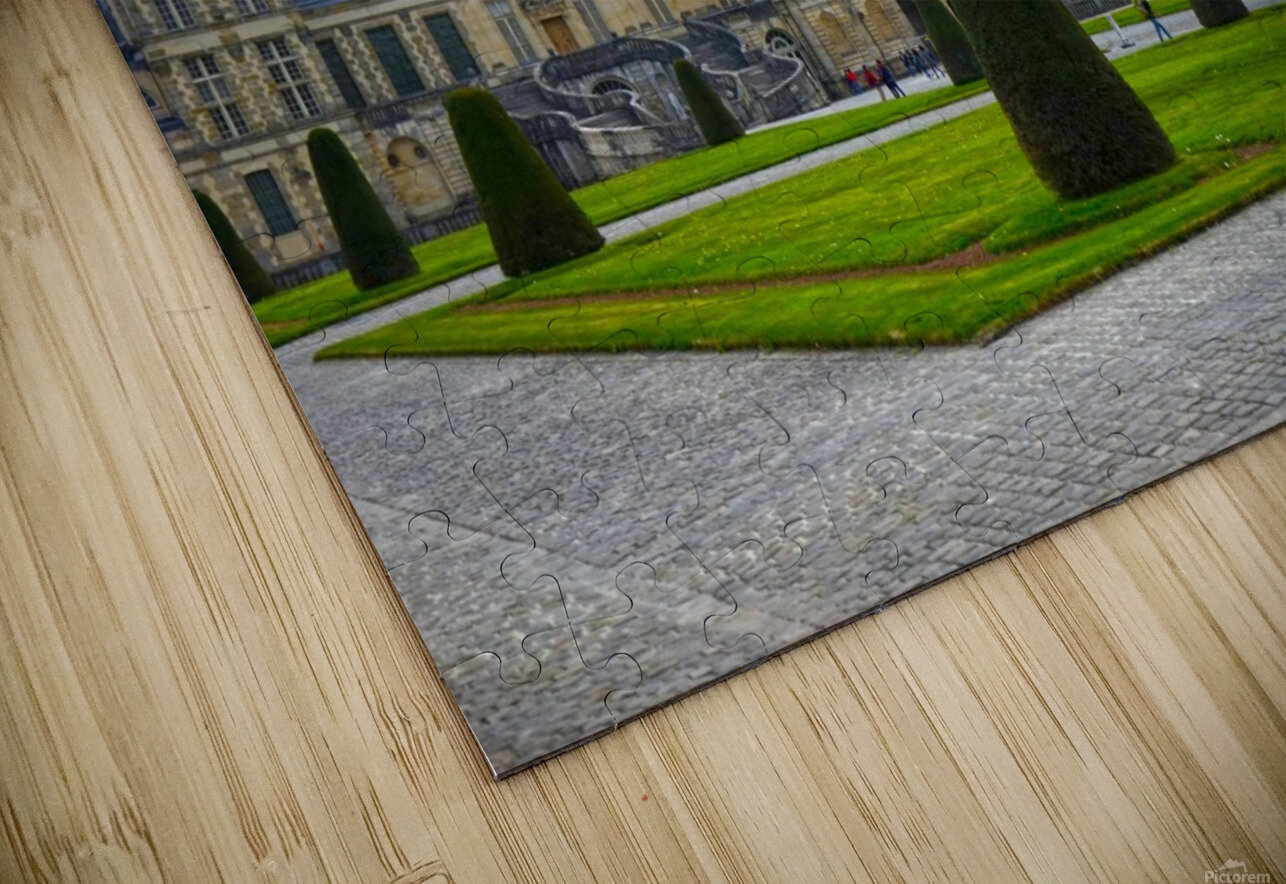 Chateaus of France 3 HD Sublimation Metal print