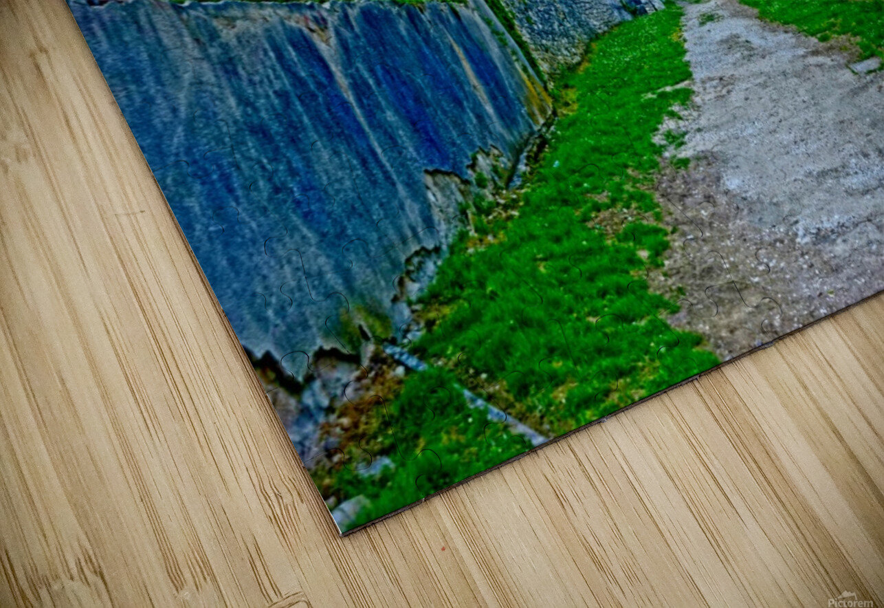 The Road Less Traveled HD Sublimation Metal print