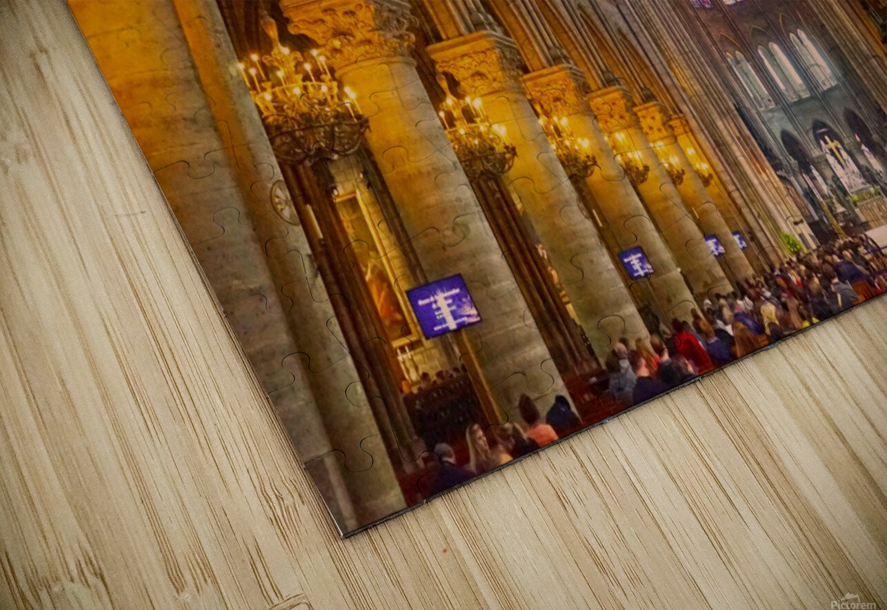 Saint Croix Cathedral France HD Sublimation Metal print