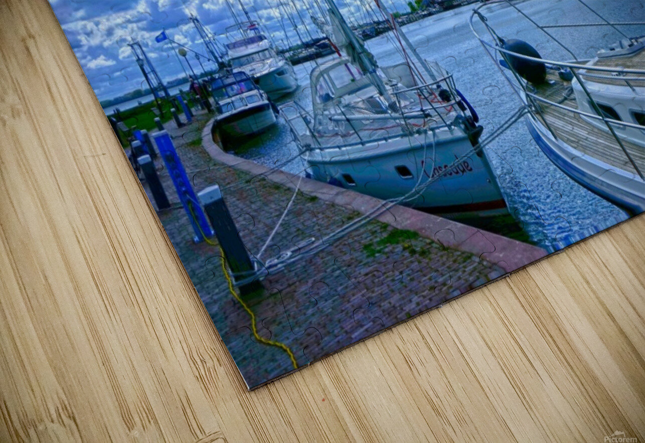 Inland Harbor Netherlands 2 of 5 HD Sublimation Metal print