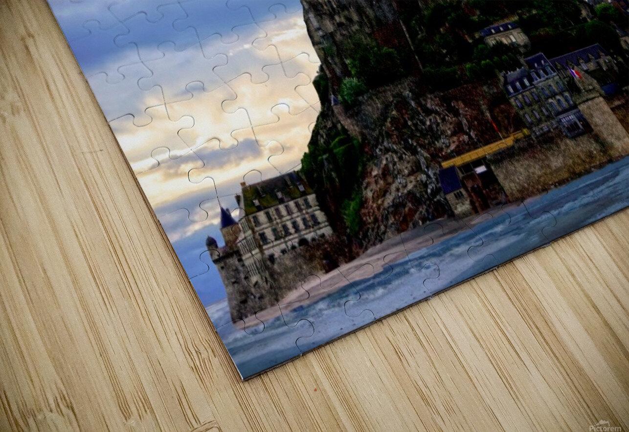 Mont St Michael Rising Tide - France HD Sublimation Metal print