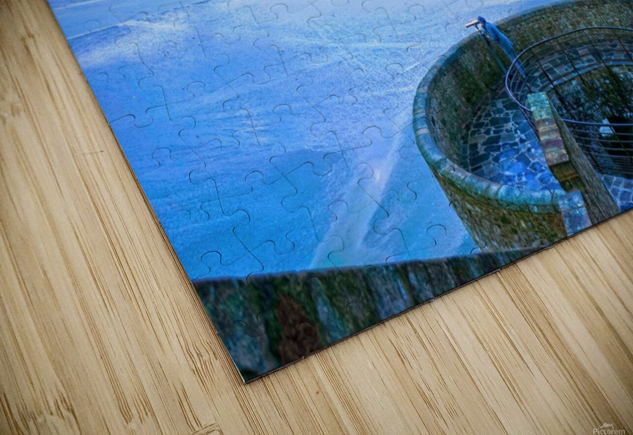 A Day at Mont Saint Michel 6 of 12 HD Sublimation Metal print