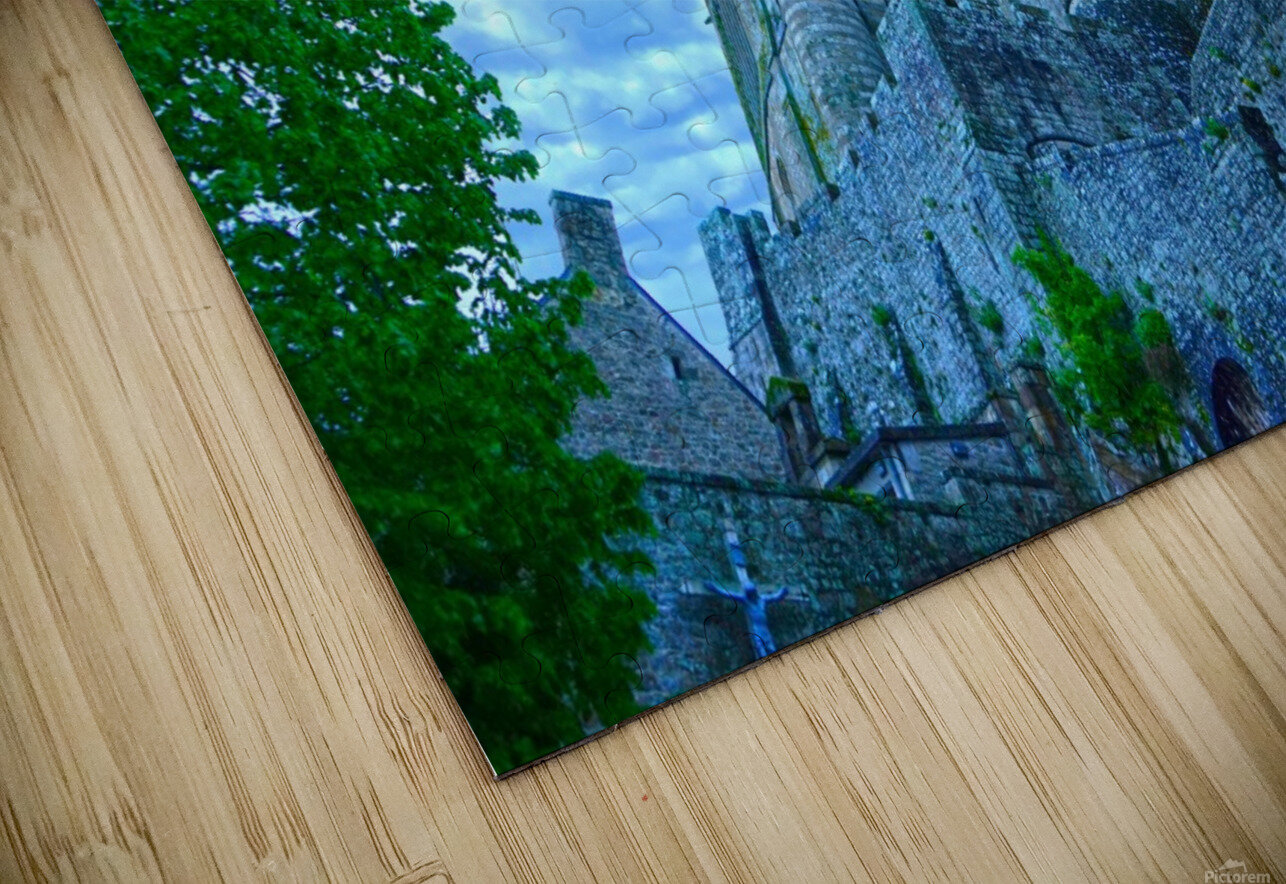 A Day at Mont Saint Michel 9 of 12 HD Sublimation Metal print