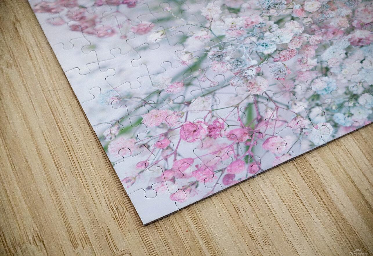 Daltana Pastel Floral Dianola HD Sublimation Metal print