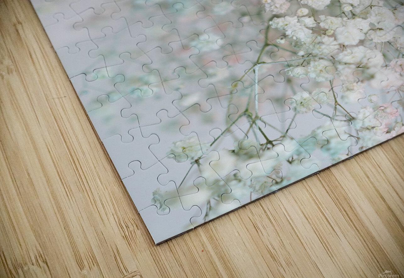 Daltana Pastel Floral Aera HD Sublimation Metal print