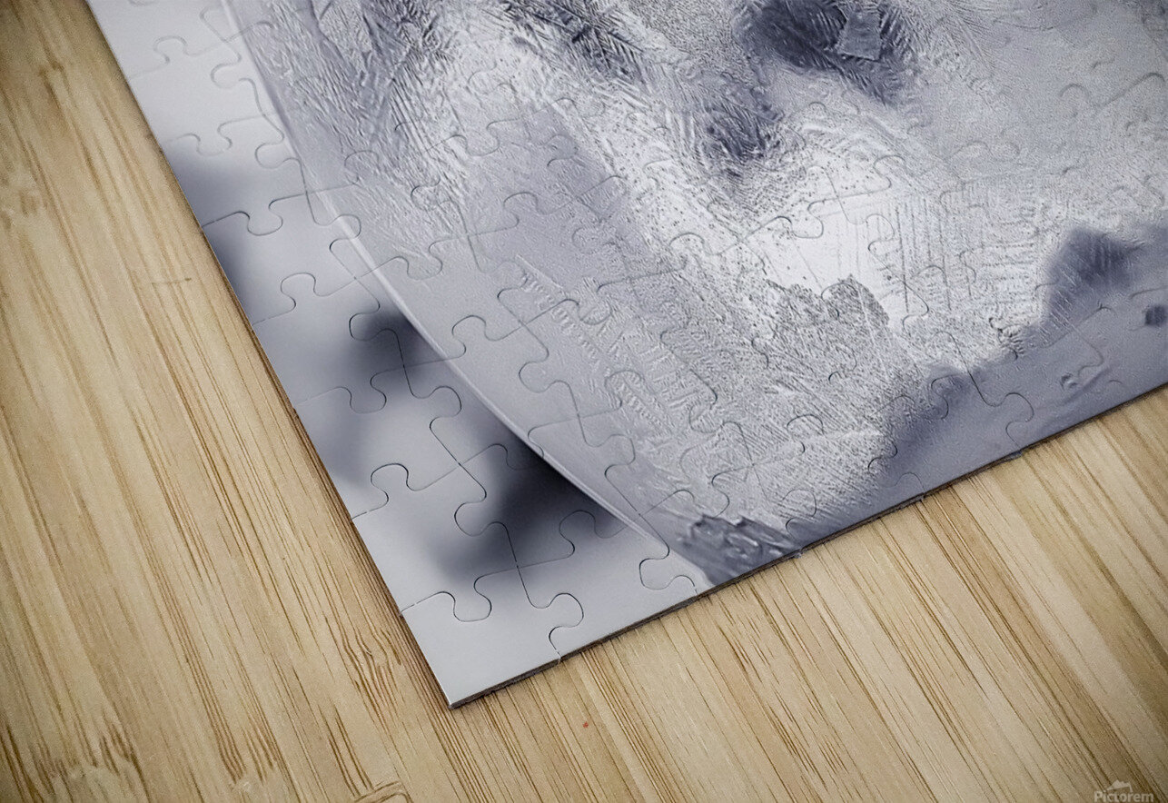 Givre HD Sublimation Metal print