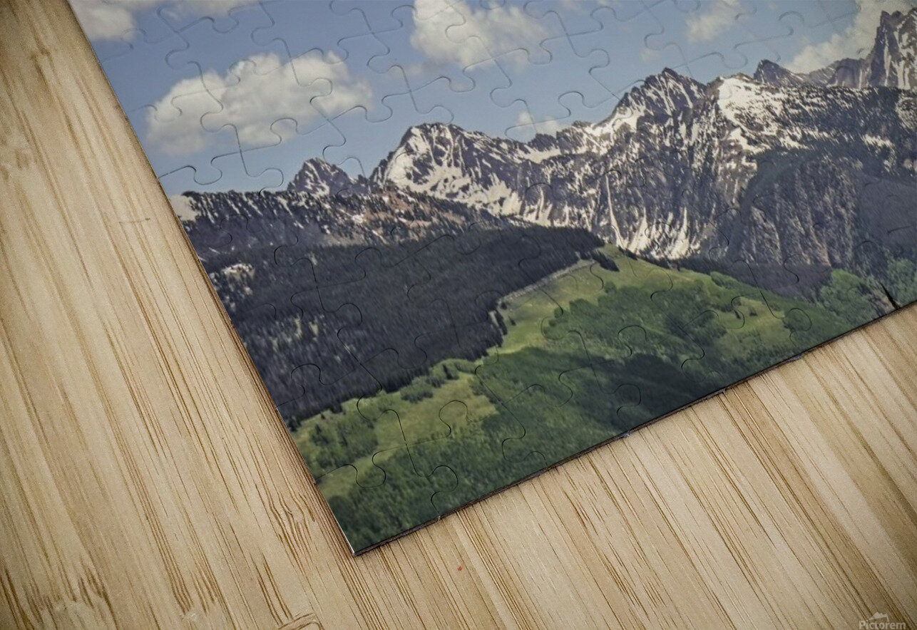 Back Country Colorado 5 of 8 HD Sublimation Metal print