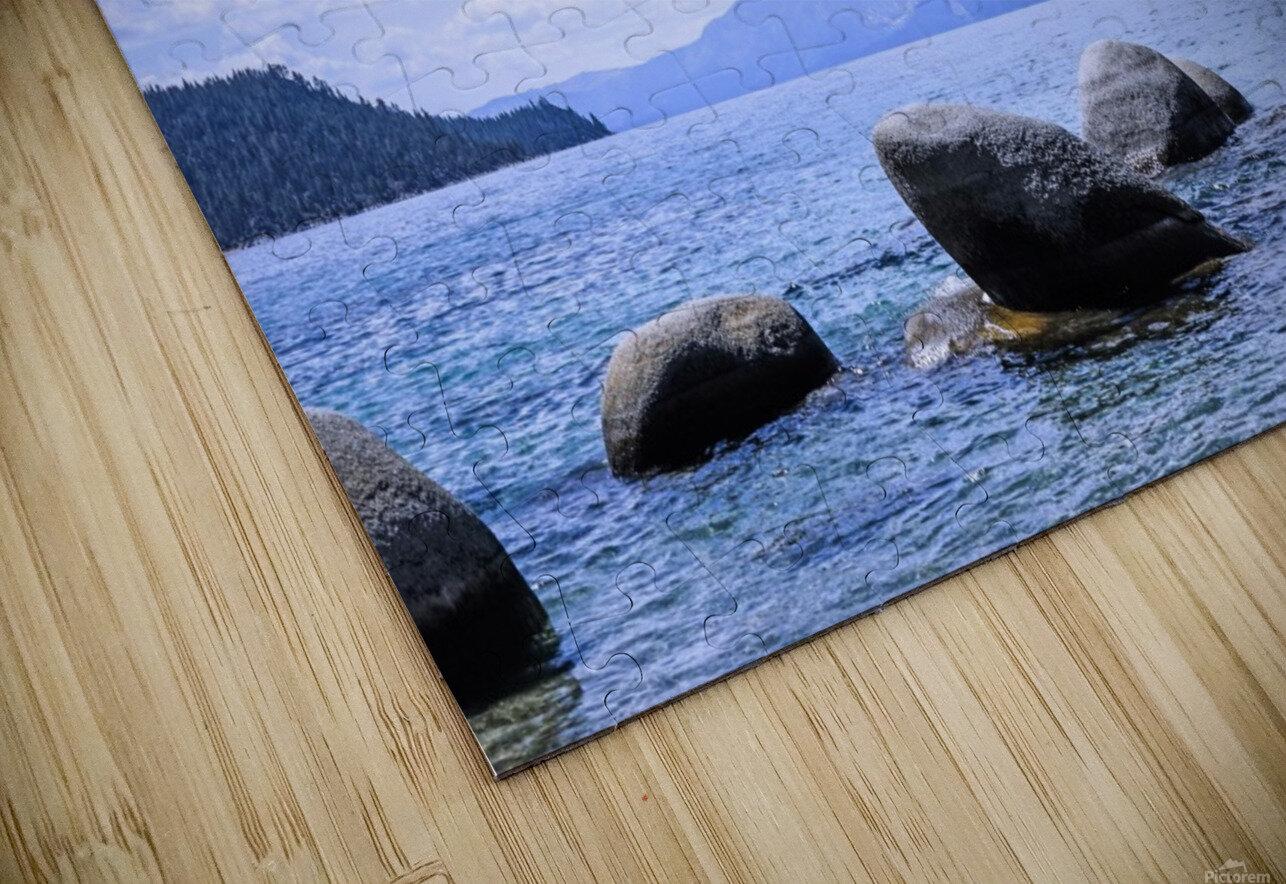 Perfect Day at the Lake - California HD Sublimation Metal print
