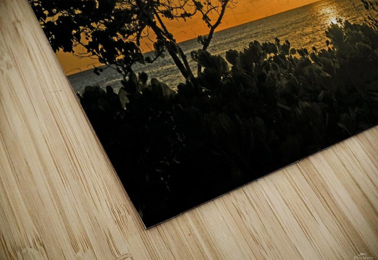Delicate - Sunset Hawaiian Islands HD Sublimation Metal print