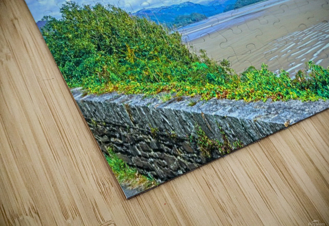 View to Forever Coastal England HD Sublimation Metal print