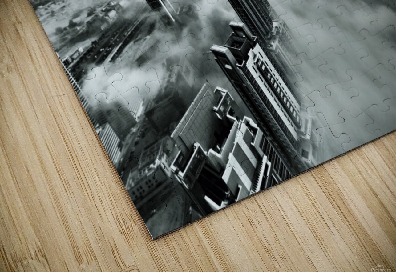 Up up and Above HD Sublimation Metal print