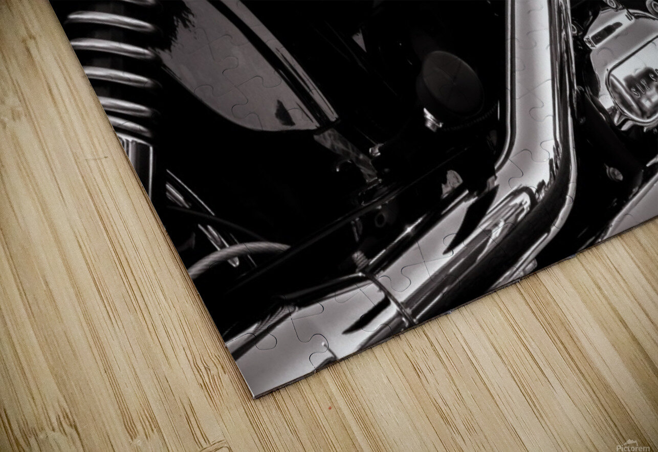 Motorcycle Number 1 HD Sublimation Metal print