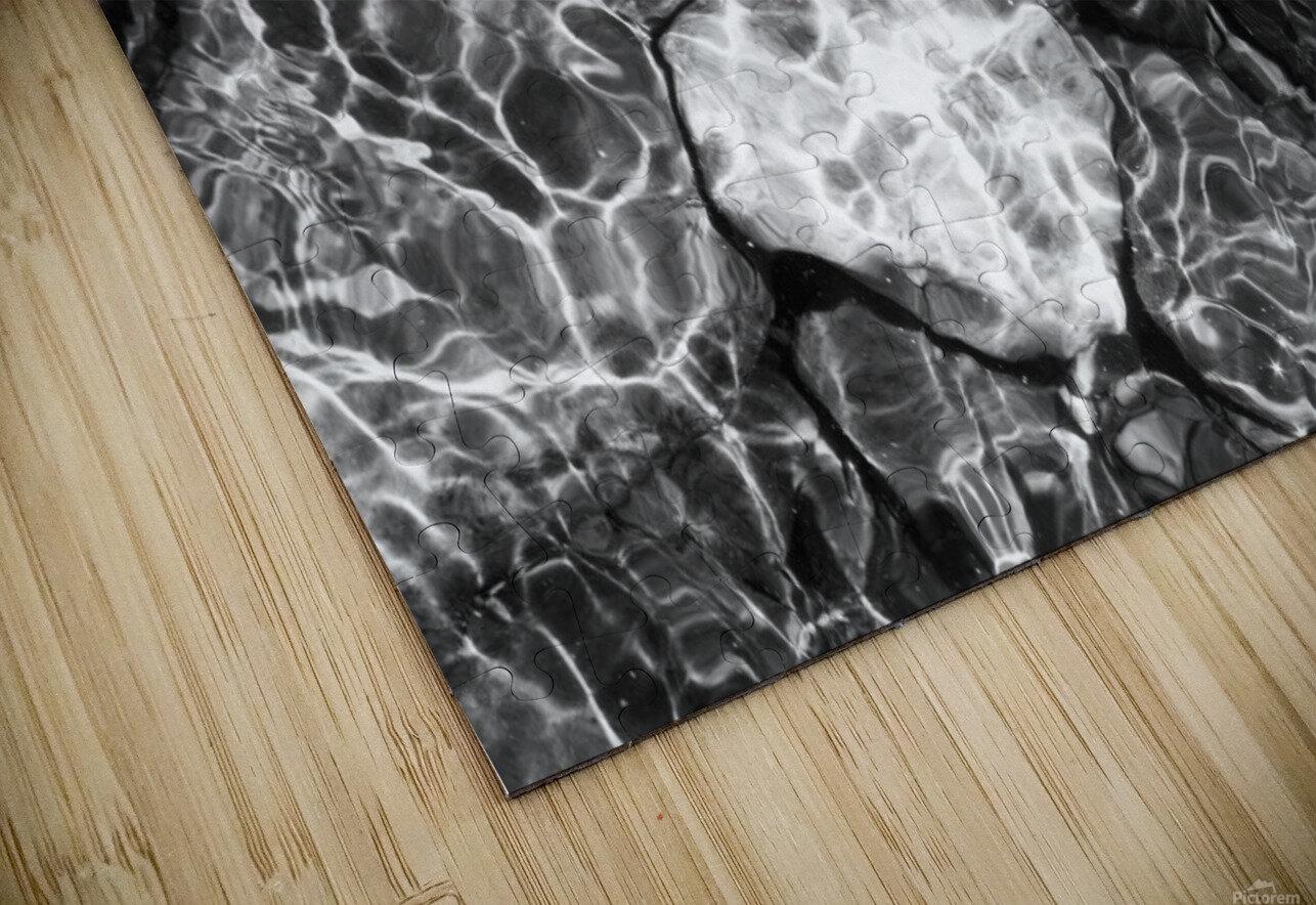 Water Colors ap 1776 B&W HD Sublimation Metal print
