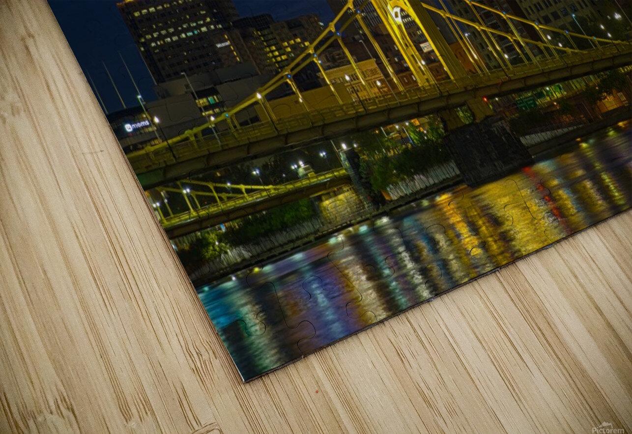 Roberto Clemente Bridge ap 2870 HD Sublimation Metal print