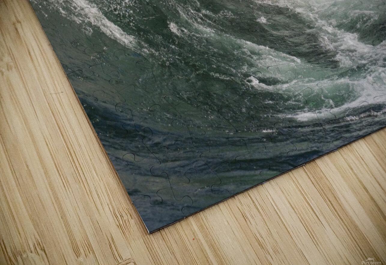 Wave Curl ap 2672 HD Sublimation Metal print