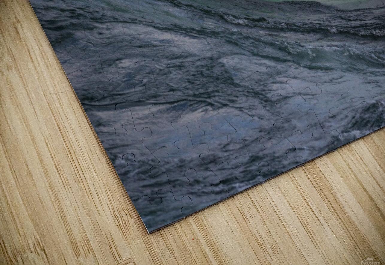 Wave Curl ap 2681 HD Sublimation Metal print
