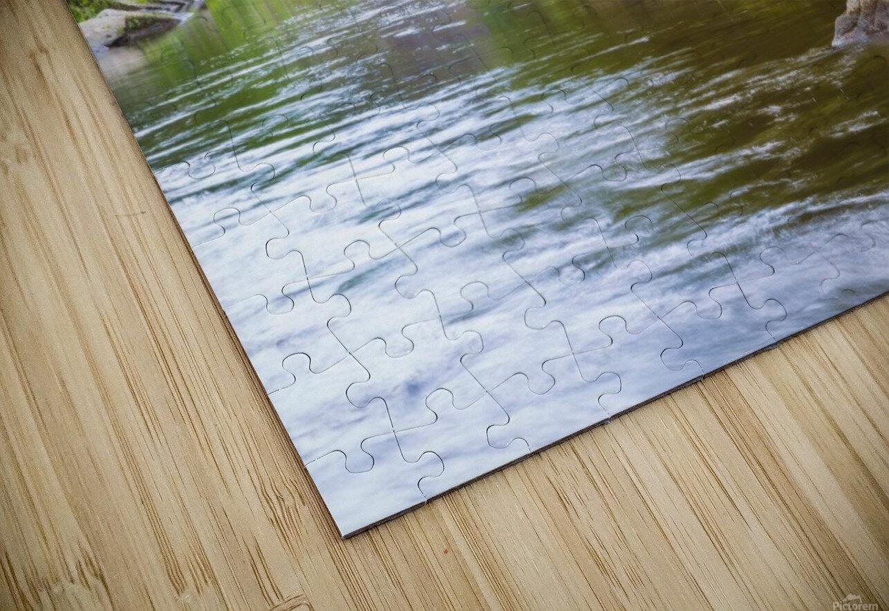 Slippery Rock Creek ap 1944 HD Sublimation Metal print