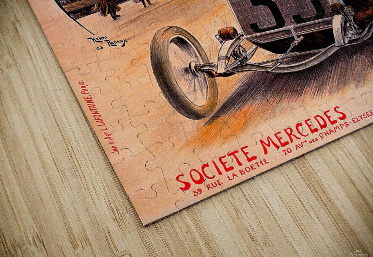 Mercedes Grand Prix Impression de sublimation métal HD