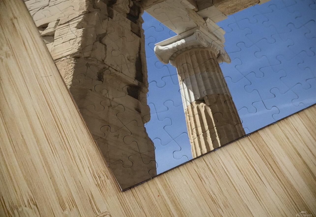 Acropolis of Athens Greece HD Sublimation Metal print