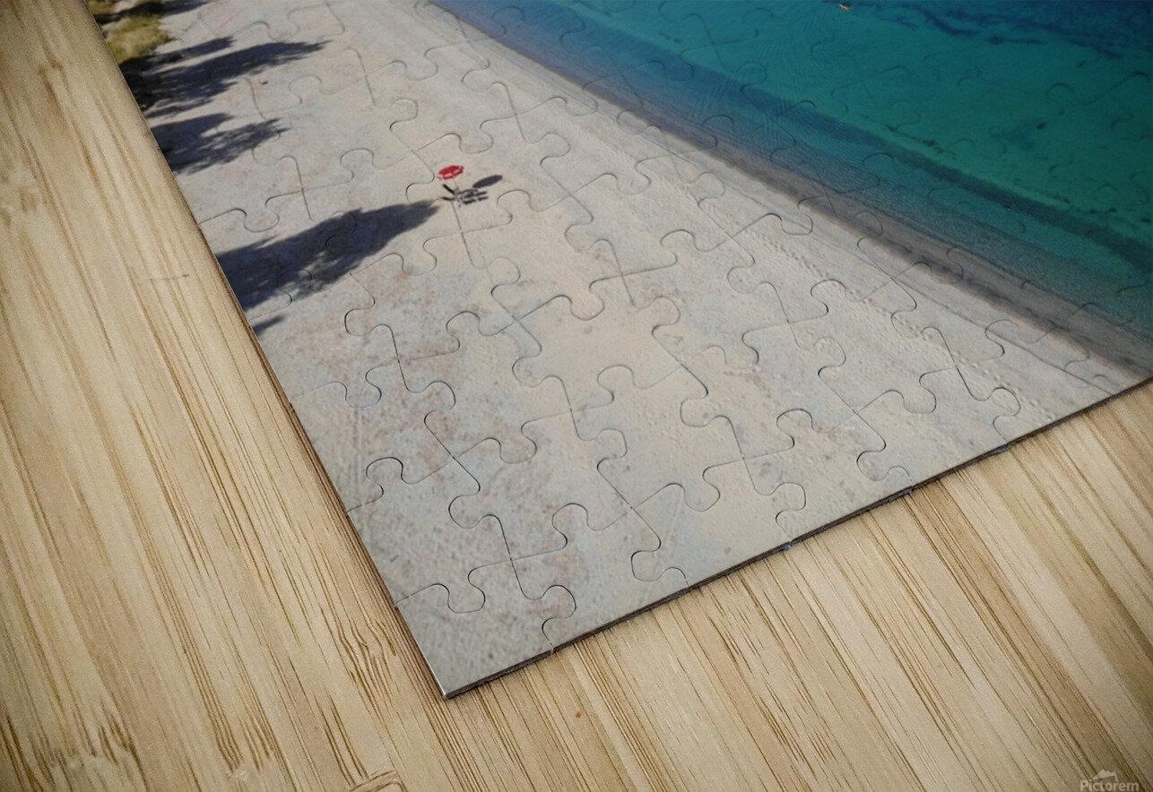 Greece coast near Lefkada HD Sublimation Metal print