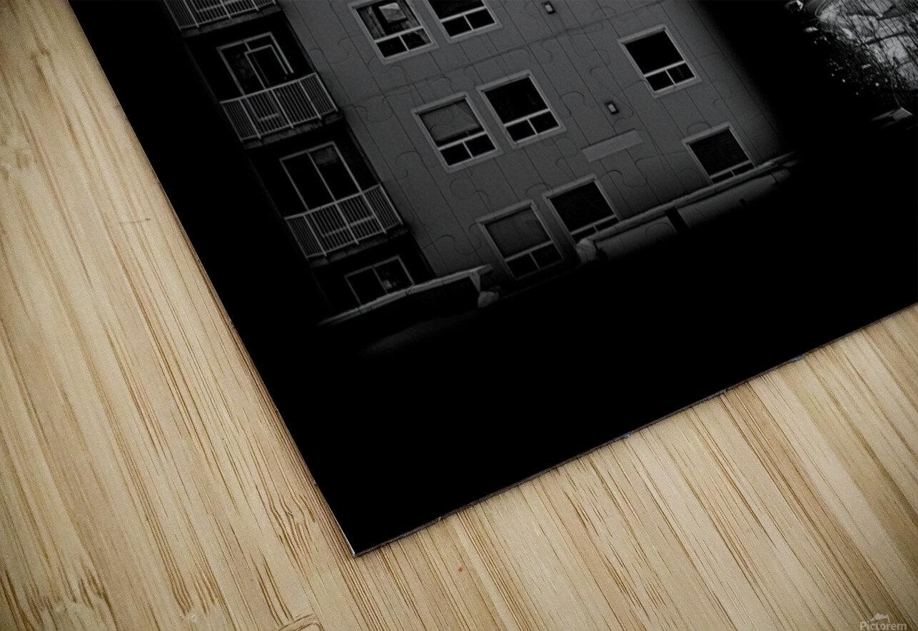 Building and Bridge HD Sublimation Metal print