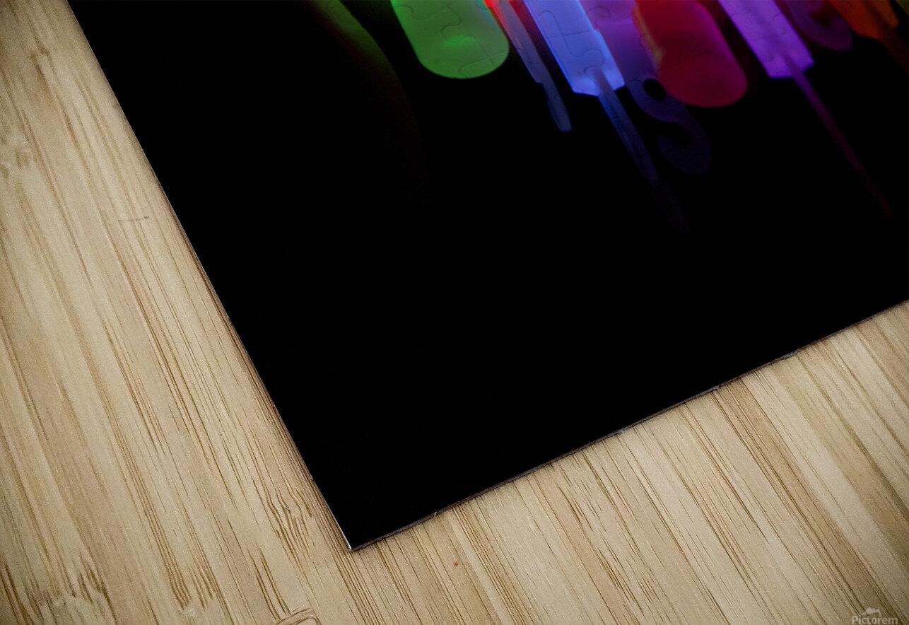 Lightstick HD Sublimation Metal print