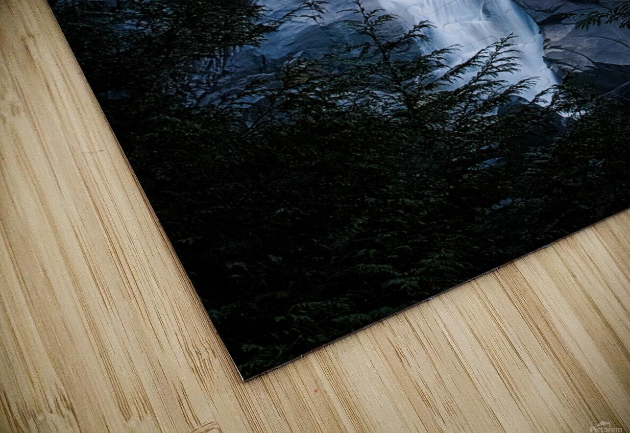 Blue Falls HD Sublimation Metal print
