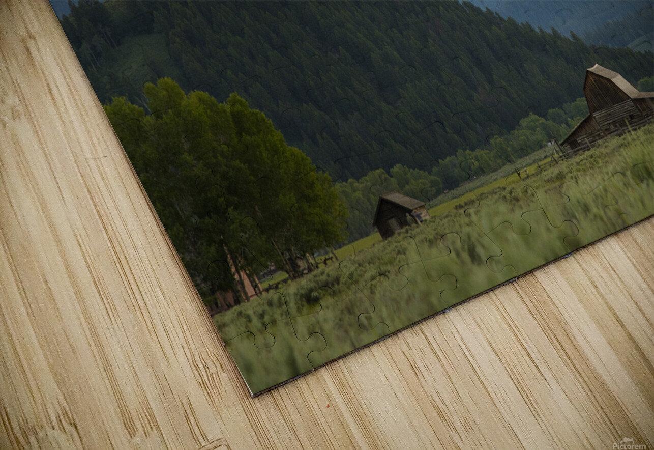 The Barn HD Sublimation Metal print