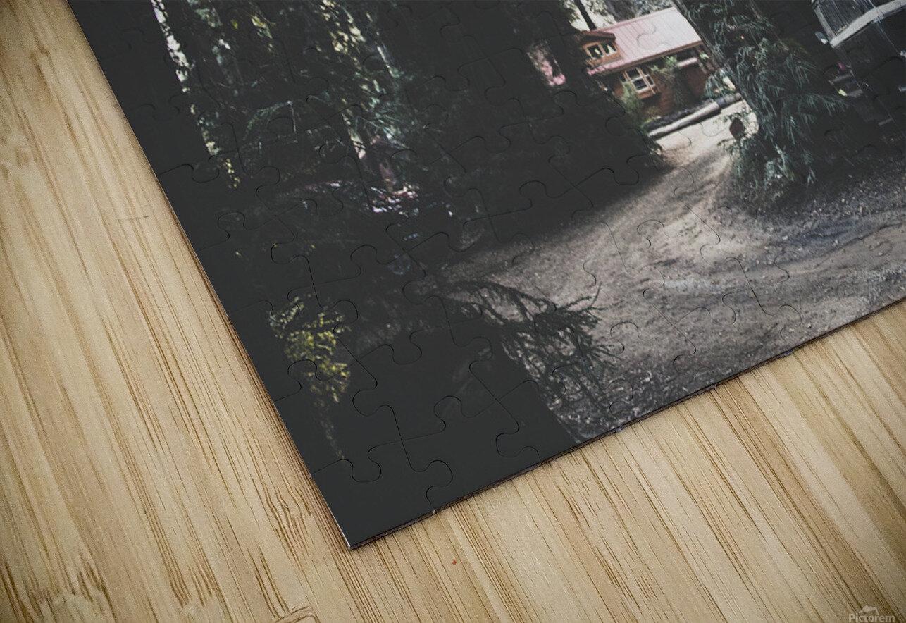 Big Sur Camping HD Sublimation Metal print