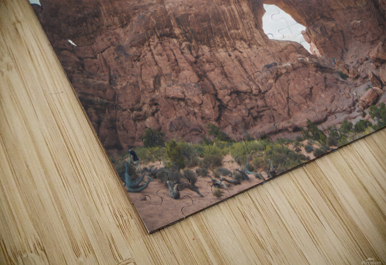 The Double Arch HD Sublimation Metal print