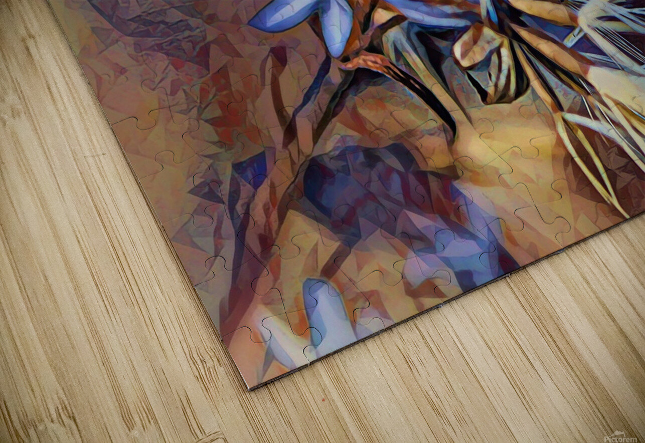 Cocci Art Giaro Cavalli HD Sublimation Metal print